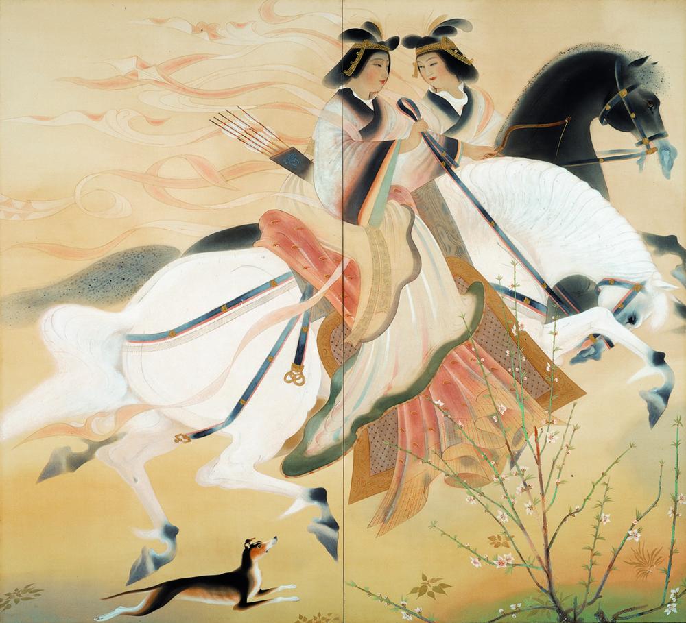②《蒐猟》1928年 京都府立堂本印象美術館蔵.jpg