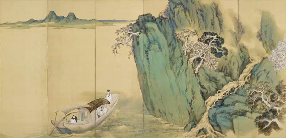 橋本関雪《赤壁賦図》当館所蔵